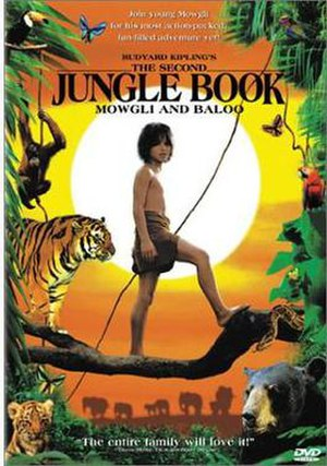 The Second Jungle Book: Mowgli & Baloo - Image: The Second Jungle Book Mowgli & Baloo Video Cover