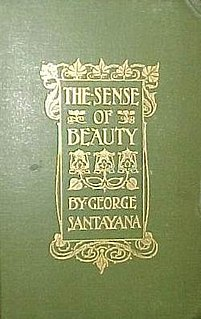 <i>The Sense of Beauty</i> book by George Santayana