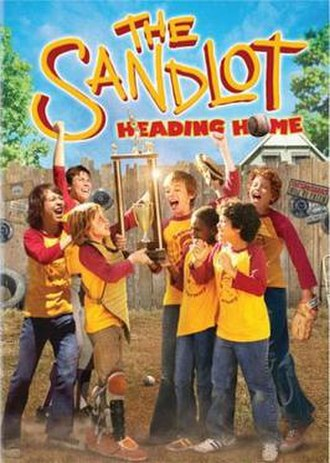 The Sandlot: Heading Home - DVD cover