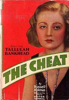 <i>The Cheat</i> (1931 film) 1931 film