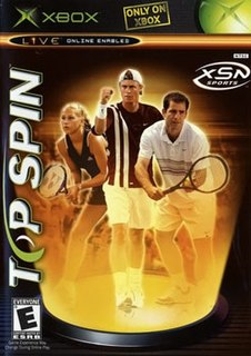 <i>Top Spin</i> (video game)