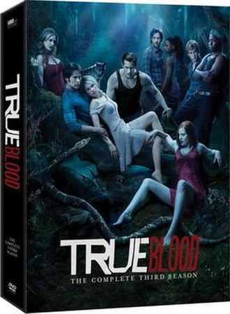 True Blood (season 3) - Image: True Blood Season 3 DVD Cover