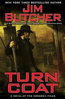 <i>Turn Coat</i> book by Jim Butcher