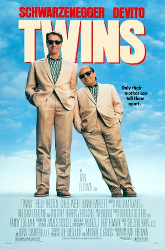 Twins (1988 film) - Theatrical release poster