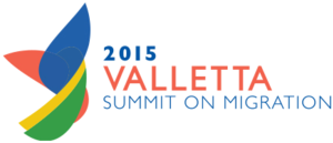 Valletta Summit on Migration - Logo of the Valletta Summit