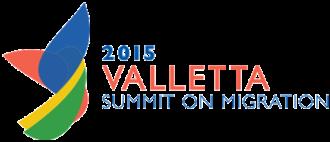 Valletta Summit on Migration - Logo of the Valletta Summit