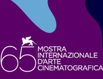 65th Venice International Film Festival - Festival poster