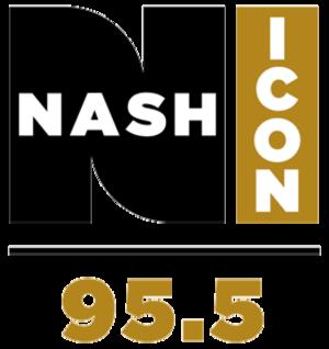 WSM-FM - Image: WSM FM Nash Icon Logo