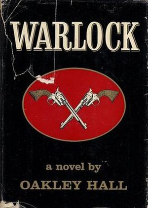 Warlock (Hall novel) - First edition cover