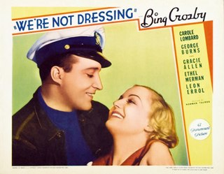 <i>Were Not Dressing</i> 1934 film by Benjamin Glazer, Norman Taurog