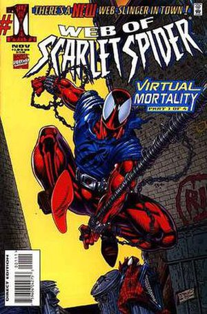 Web of Scarlet Spider - Image: Web of Scarlet Spider 1