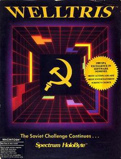 <i>Welltris</i> 1989 video game