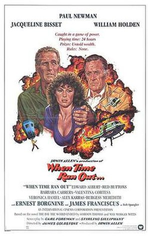 When Time Ran Out - Theatrical release poster