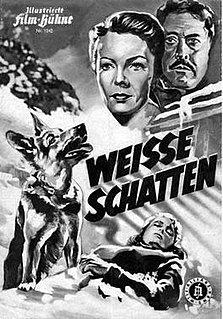 <i>White Shadows</i> (1951 film) 1951 film by Helmut Käutner