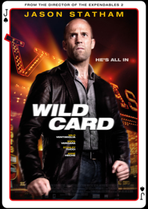 Wild Card (2015 film) - Theatrical release poster