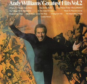 Andy Williams' Greatest Hits Vol. 2 - Image: Williams GH2