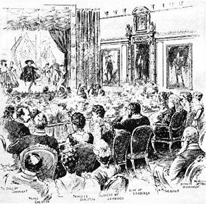Royal Command Performance - The Gondoliers performed before Queen Victoria at Windsor Castle in 1891