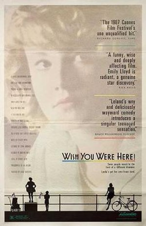 Wish You Were Here (1987 film) - US Theatrical release poster