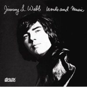 Words and Music (Jimmy Webb album) - Image: Words and Music (Jimmy Webb album) cover art