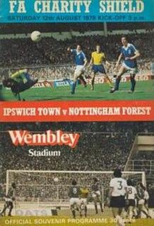 1978 FA Charity Shield 1978 football match in London, England