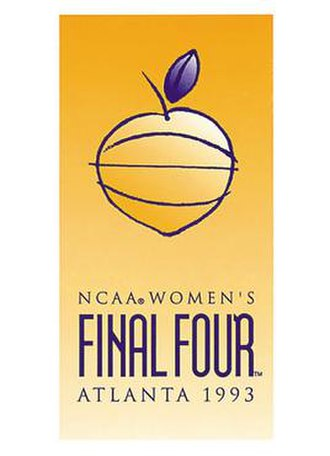 1993 NCAA Division I Women's Basketball Tournament - Image: 1993Womens Final Four Logo