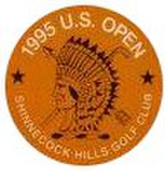 1995 U.S. Open (golf) - Image: 1995Open Logo