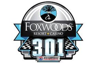 Foxwoods Resort Casino 301 - Image: 2018Foxwood 301 logo