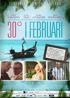 <i>30 Degrees in February</i> television series