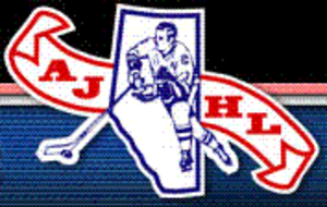 Alberta Junior Hockey League - Former logo of the AJHL, until 2006