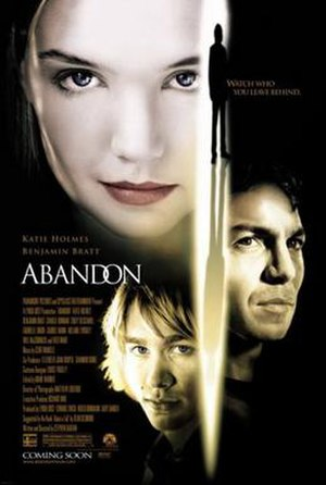Abandon (film) - North American theatrical release poster