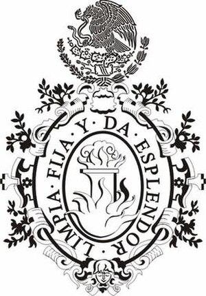 Academia Mexicana de la Lengua - Image: Academia Mexicana de la Lengua, Coat of Arms