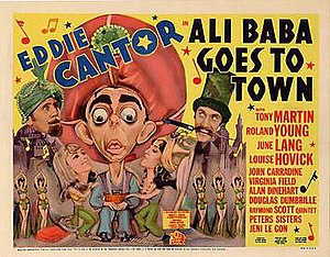 Ali Baba Goes to Town - Film poster