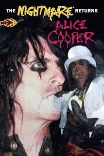 <i>The Nightmare Returns</i> 1987 video by Alice Cooper