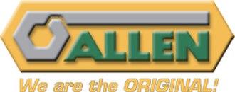 Allen (brand) - Image: Allen Logo Trademark