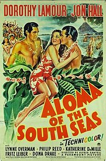 <i>Aloma of the South Seas</i> (1941 film) 1941 film by Alfred Santell