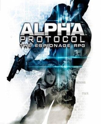 Alpha Protocol - Image: Alpha Protocol cover