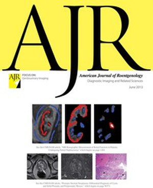 American Journal of Roentgenology - Image: American Journal of Roentgenology cover, June 2013