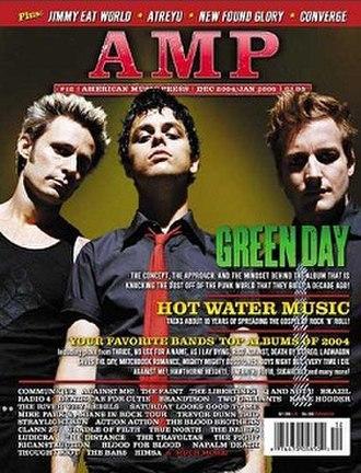 AMP (magazine) - Image: Amp (magazine)