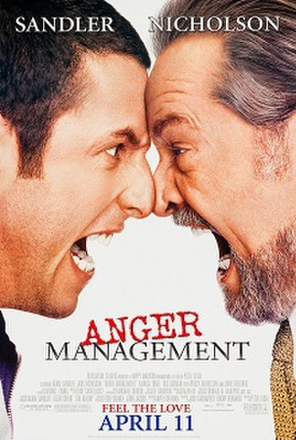 Anger Management (film) - Theatrical release poster