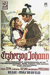 <i>Archduke John</i> (film) 1929 film