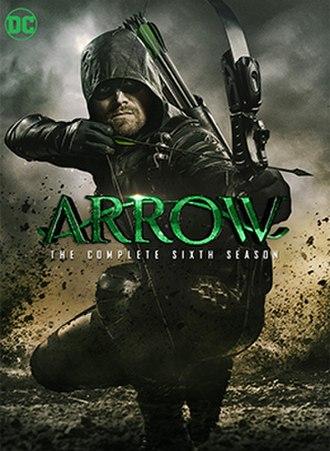 Arrow (season 6) - Home media cover