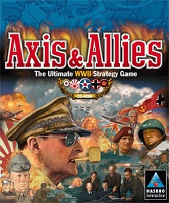 Axis & Allies (1998 video game) - Image: Axis & Allies (1998) Coverart