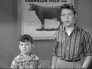 Leave It to Beaver - Jerry Mathers and Paul Sullivan