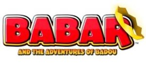 Babar and the Adventures of Badou - Title card.