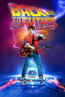 <i>Back to the Future: The Musical</i> Musical version of the Back to the Future film.