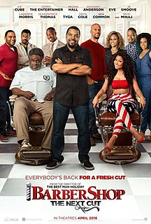 <i>Barbershop: The Next Cut</i> 2016 film directed by Malcolm D. Lee
