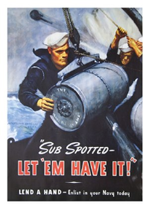 McClelland Barclay - Navy recruitment poster by McClelland Barclay.