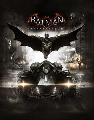 Batman: Arkham Knight - Image: Batman Arkham Knight Cover Art