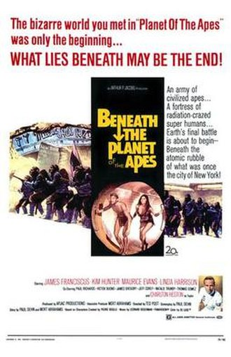 Beneath the Planet of the Apes - Image: Beneath the Planet of Apes