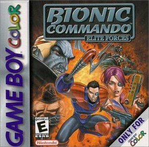 Bionic Commando: Elite Forces - Image: Bionic commando ef gbc